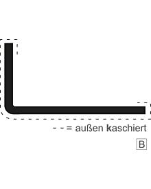 PVC-WinkelprAR weiß 100x100x3,0