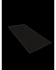 PVC-Flachleiste dekor 100x3,0 Schwarzbraun 0112