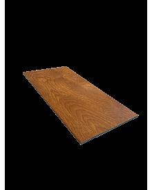 PVC-Flachleiste dekor 100x3,0 Golden Oak 0101
