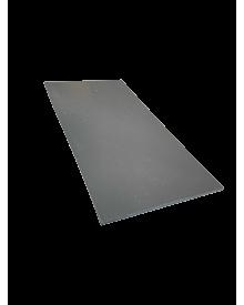 PVC-Flachleiste dekor 100x3,0 Quarzgrau 0108