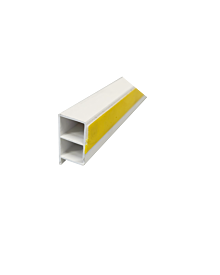 PVC-KammerprMN weiß  30x15x1,2