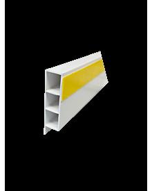 PVC-KammerprMN weiß  80x15x1,4