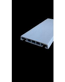 PVC-Klipsleiste dekor 85x12 Menk Grau 0105