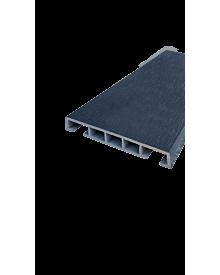 PVC-Klipsleiste dekor 85x12 Menk Anthrazitgrau0101