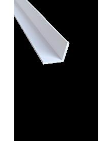 PVC-WinkelprKT weiß  20x 20x2,5