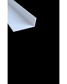 PVC-WinkelprKT weiß  25x 60x2,0