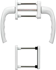 Olive83 NY f PZ-Getriebe weiß Artikelnummer E-G-HOP-0083-W-PZ 44.93 Euro Baustoffe & Leisten & Griffe  Shop meinfenster.de
