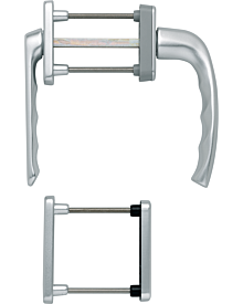 Olive80 NY f PZ-Getr(RF) silber F1 Artikelnummer E-G-HOP-0080-S-PZ-RF 46.54 Euro Baustoffe & Leisten & Griffe  Shop meinfenster.de