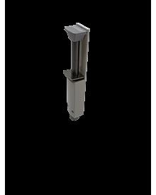 Türfeststeller 60mm weiß naö