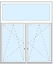 2tlg Fenster