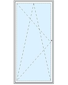 1 tlg. Balkontüre