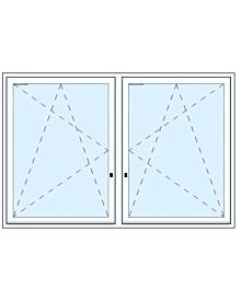 2 tlg Fenster mit Unterlicht Artikelnummer MF-17730 715.05 Euro Fenster-Tueren  Shop meinfenster.de